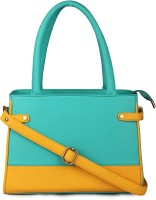 CLASSIC FASHION Hand-held Bag(TURQUOISE & YELLOW (DS TALA))