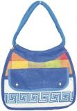 Vakula Exports Hand-held Bag (Blue)