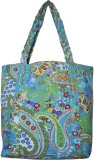 Lal Haveli Hand-held Bag (Blue)