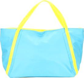 Jolie Messenger Bag(Blue, Yellow)