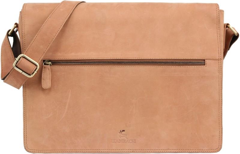 Leaderachi Messenger Bag(Brown)