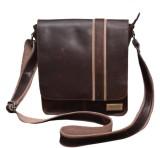 Le Craf Messenger Bag (Brown, Brown)