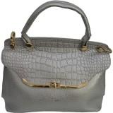 BK Black Hand-held Bag (Silver)