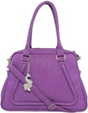 Peacock Shoulder Bag (Purple)