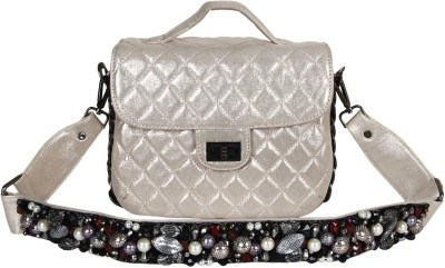 Brazeal studio Sling Bag(Silver) low price