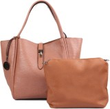 Heaven Deal Hand-held Bag (Tan)