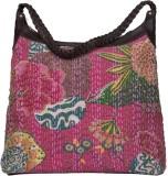 Jaipur Textiles Hub Messenger Bag (Pink)