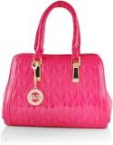 Kelvin Straw Hand-held Bag (Pink)