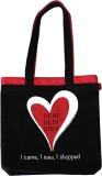 Random in Tandem Shoulder Bag (Black, Pi...