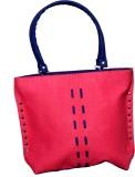 Shubhi Fashions Shoulder Bag (Blue, Tan)