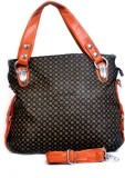 Frosty Fashion Tote (Brown)