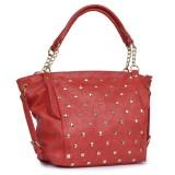 Lychee Bags Shoulder Bag (Red)
