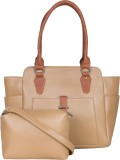 Adisa Shoulder Bag (Beige)