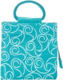 Jute Cottage Hand-held Bag (Blue)