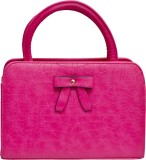 Tanishka Exports Hand-held Bag (Pink)