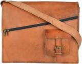 AVTIKES Messenger Bag (Brown)