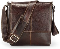 Teakwood Messenger Bag(Brown)