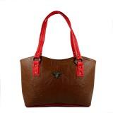Dazzle Shoulder Bag (Brown)