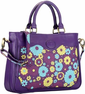 Contrast Hand-held Bag