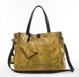 Sophia Visconti Shoulder Bag (Yellow)