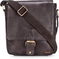 Teakwood Messenger Bag(White)