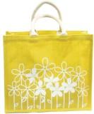Vakula Exports Hand-held Bag (Yellow)
