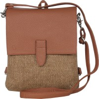 Walletsnbags Messenger Bag(Tan)
