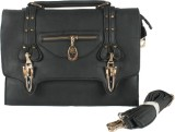 Jainam Hand-held Bag (Black)