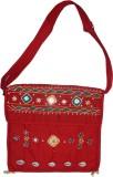 Muren Messenger Bag (Red)