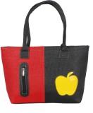 Esskay Hand-held Bag (Black, Red)