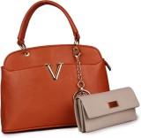 Glasy Hand-held Bag (Orange)
