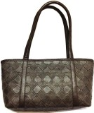 Russo Fashion Hand-held Bag (Brown)