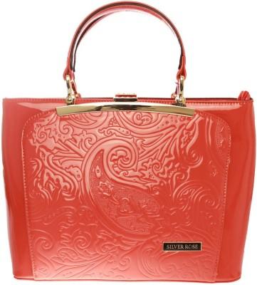 Silver Rose Shoulder Bag
