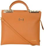 Hunar India Hand-held Bag (Tan)