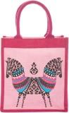 Jute Cottage Hand-held Bag (Pink)