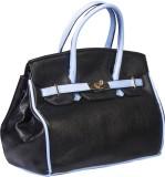 Legal Bribe Hand-held Bag (Black, Blue)