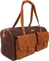 D'oro Hand-held Bag(Swade Chocolate)