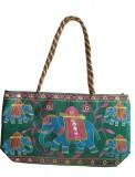 Haveli Arts Hand-held Bag (Green)