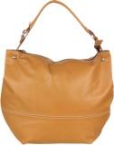 Handle Drop Hand-held Bag (Yellow)