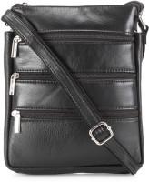 Teakwood Messenger Bag(Black)