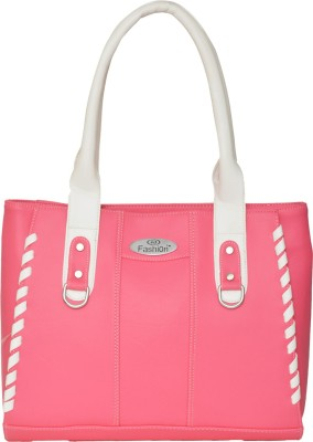 FD Fashion Shoulder Bag(pink & white)