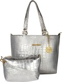 Meow Wings Shoulder Bag (Silver)