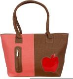 Esskay Hand-held Bag (Brown, Pink)