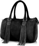Paint Hand-held Bag (Black)