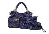 Glamora Shoulder Bag (Blue)