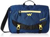Wildcraft Messenger Bag (Blue, Black)