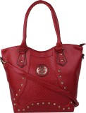 Armadio Hand-held Bag (Maroon)