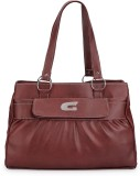 Frosty Fashion Hand-held Bag (Brown)