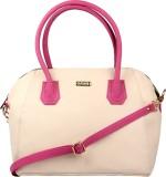 Sarah Messenger Bag (Beige, Pink)