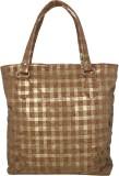 Fashionberg Shoulder Bag (Brown, Gold)